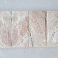 đá bóc hồng 10x20 ốp tường trang trí