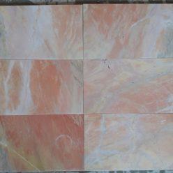 đá mài bóng hồng 10x20 ốp tường trang trí